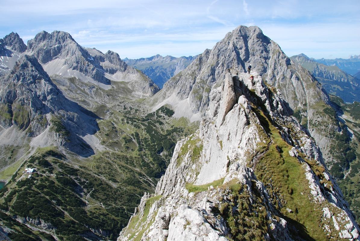 Klettersteig Tajakante : Klettersteig tajakante